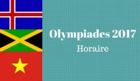 Guide des Olympiades 2017