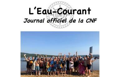 L'Eau-Courant #5 – Semaine du 23 au 27 juillet 2018