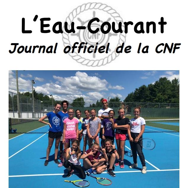 L'Eau-Courant #6 – Semaine du 30 juillet au 3 août 2018